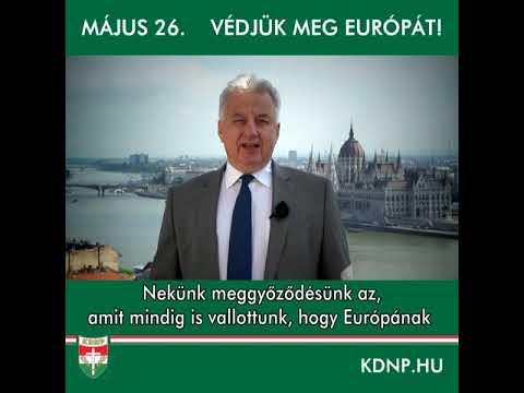 Semjén Zsolt EP-választás