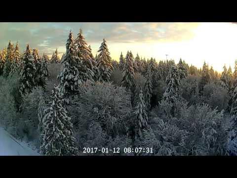 Vancouver WA 2017 Snowstorm Sunrise