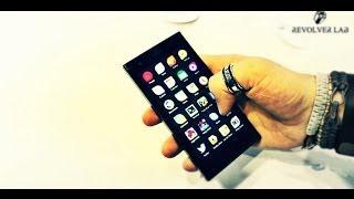Обзор смартфона Jolla с Sailfish OS на борту. (MWC 2014)