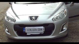 Peugeot 308 SW Access 1.6 e-HDI 112 BM6 STT Test Drive 0-180 km/h in Full 3D HD