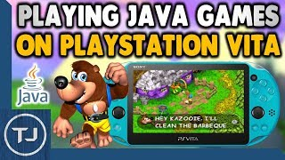 Playing Java Games On PS Vita! (PSPVKM Emulator)