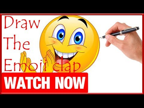 How To Draw The Emoji clap - Learn To Draw - Art Space