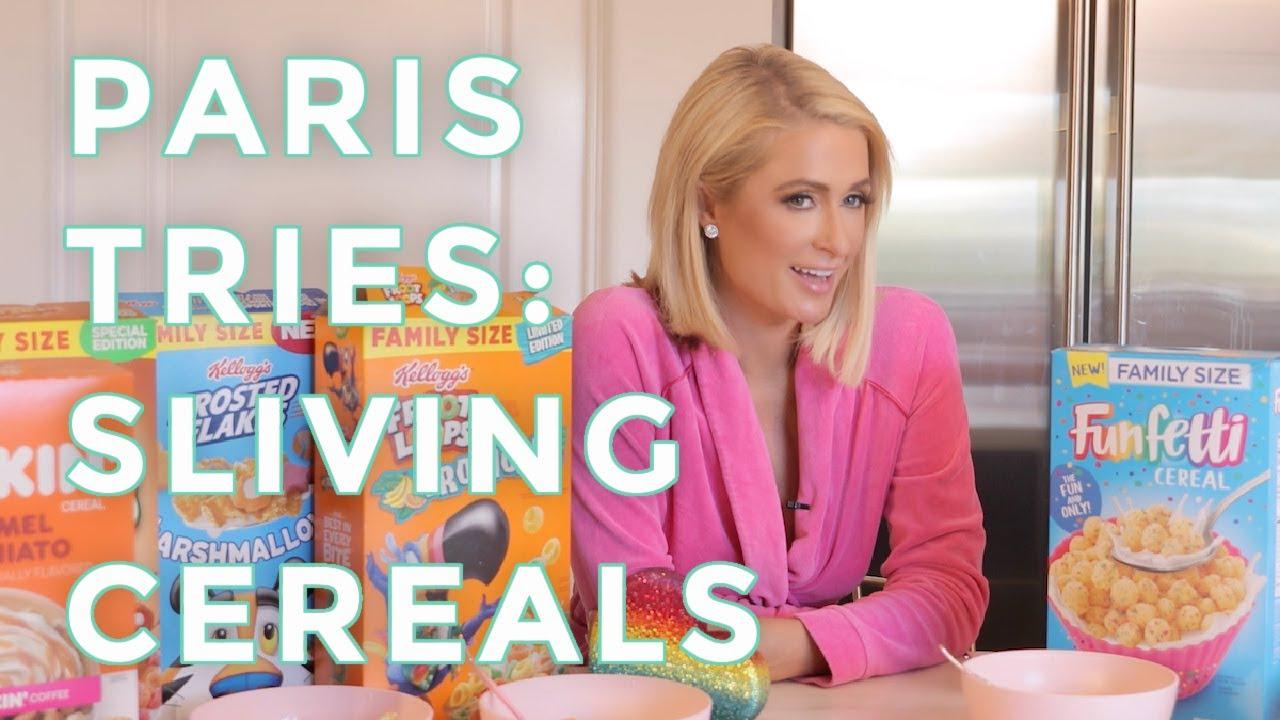 Download Paris Tries Episode 1: Paris Hilton Rates Sliving Cereals