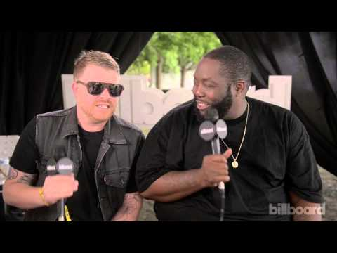 Run the Jewels play 'How Well Do You Know Your Band Mates' @ Lollapalooza 2014