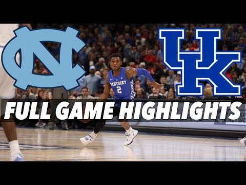 KENTUCKY VS NORTH CAROLINA - FULL GAME HIGHLIGHTS - KENTUCKY HIGHLIGHTS ONLY