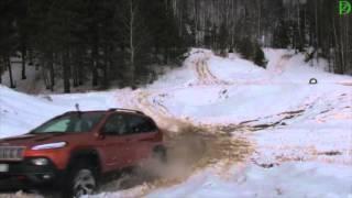 Jeep Cherokee TrailHawk на бездорожье (превью)