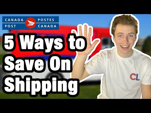 5 Ways To Get Cheaper Shipping In Canada | Canada Post Guide (Ebay, Amazon, Etsy, E-commerce)