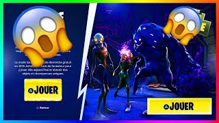 'Patch' HOW TO KNOW THE MODE SAUVER THE FREE WORLD ON FORTNITE!!