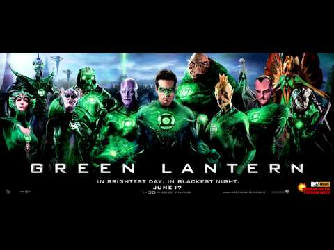 Green Lantern Soundtrack - 10 -  We're Going to Fly Now - James Newton Howard [HD]