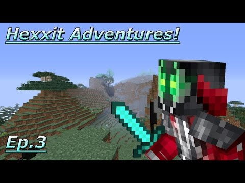 """Lets Get To Work!"" Ghetto's Hexxit adventures Ep.3"