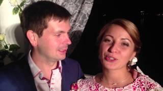 19 сентября 2014 Видео отзыв о Ведущем Плахтий Владимире Романтическая свадьба Анти Тамада