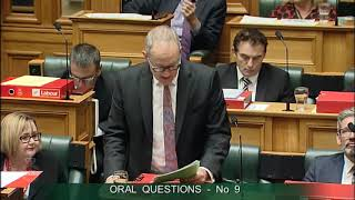 Question 9 - Jami-Lee Ross to the Minister of Transport thumbnail