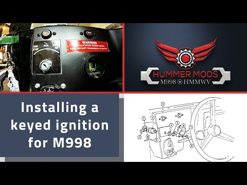 installing a keyed ignition for m998 hmmwv from federal military Ford Electrical Wiring Diagrams installing a keyed ignition for m998 hmmwv from federal military parts