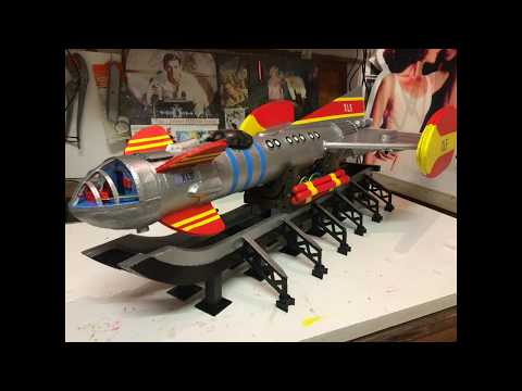 My Model of Fireball XL5