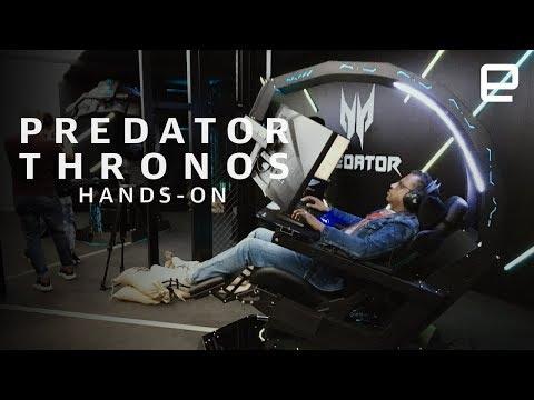 Acer Predator Thronos Hands-On at IFA 2018