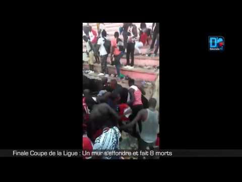 Finale Coupe de la Ligue   Un mur s'effondre et fait 8 morts