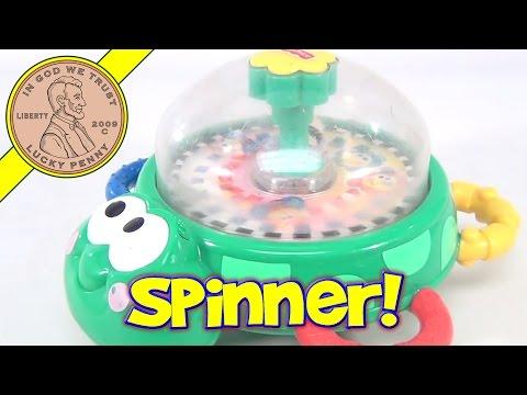 Fisher-Price Tip 'n Top Turtle, 2000 Mattel Toys