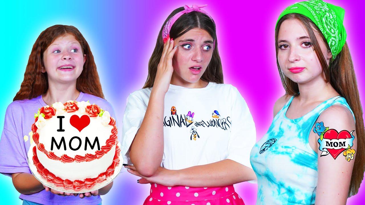 Buena Hija VS Mala Hija  || Situaciones Escolares Graciosas y divertidas