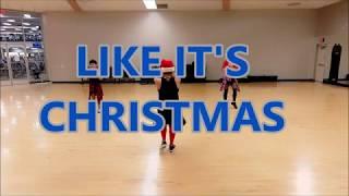 Like It's Christmas - Jonas Brothers// ZUMBA// Dance Fitness// Choreography By Ofelia// Pre-Cooldown