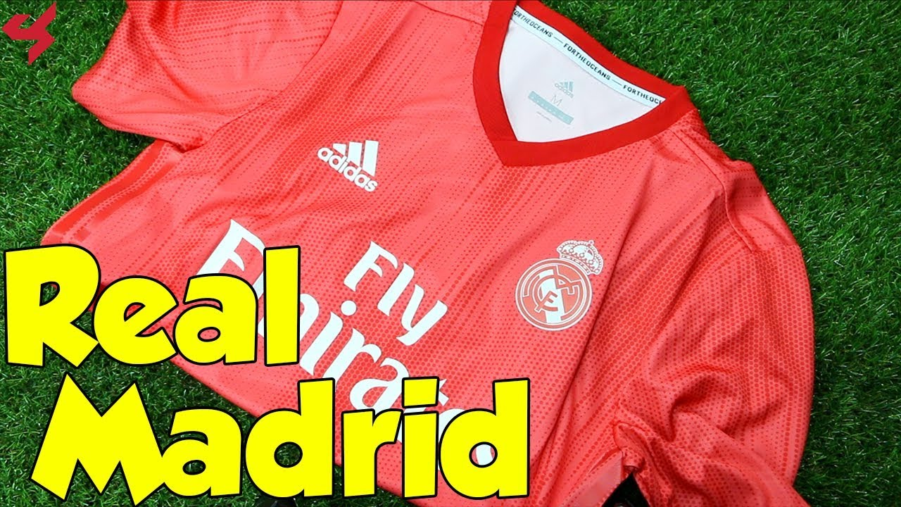 new product 4ae72 379c9 Adidas Real Madrid 2018/19 Third Jersey Unboxing + Review