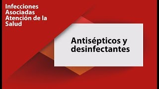 Antisépticos Y Desinfectantes Youtube