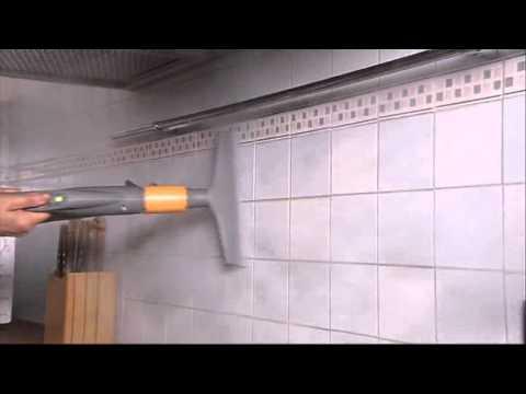 Pulizia piastrelle vapore con biocleaner youtube