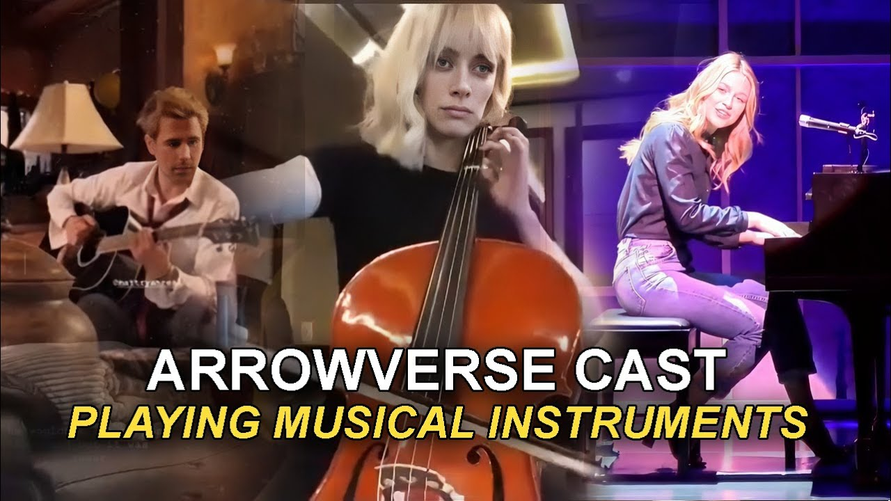 Arrowverse Cast Playing Musical Instruments