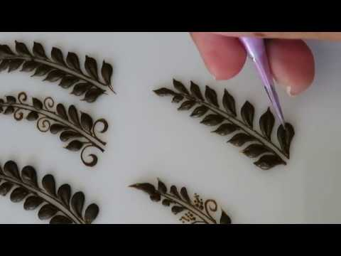 How To: 6 Different Henna Vines