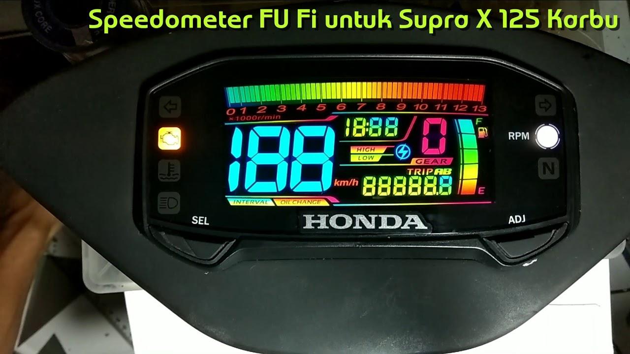 Sdometer Satria FU Fi untuk Honda Supra X 125 on