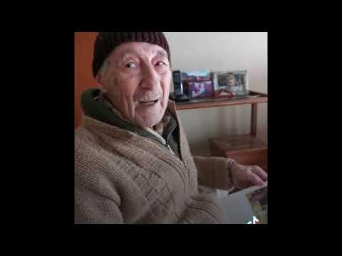 Lionel Messi emocionó a un abuelo de 100 años con un mensaje sorpresa