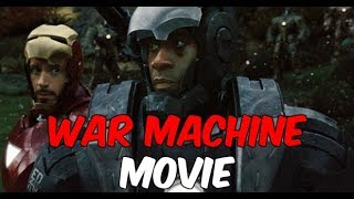 Marvel's War Machine Solo Film We Never Saw