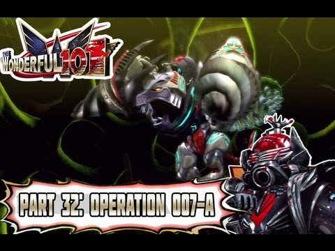 Wonderful 101 - Part 32: Operation 007-A: Chewgi's Unify Naginata! [Normal Mode]