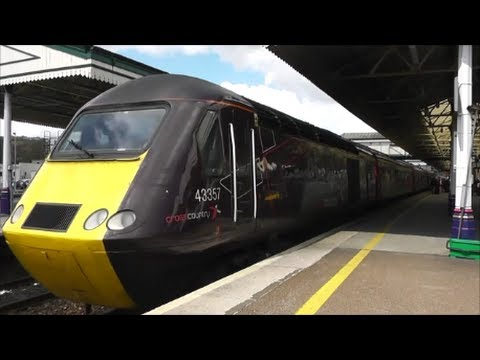 Trains At Exeter St Davids 26 04 13 Youtube