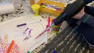 Crayon drill 2 - drugs and chemicals