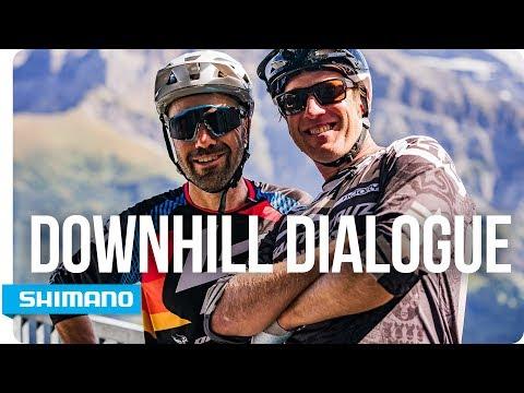 Steve Peat & Nicolas Vouilloz - Downhill Dialogue | SHIMANO