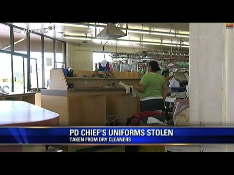 Police Chief Uniforms Stolen From Dry Cleaners