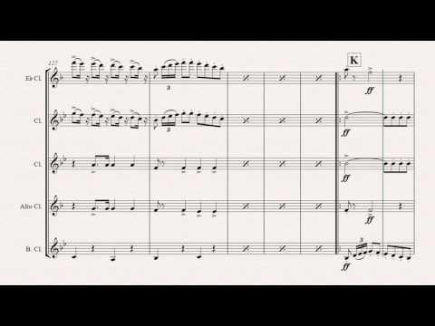 The Barber of Sevilla  Overture  Clarinet Quintet