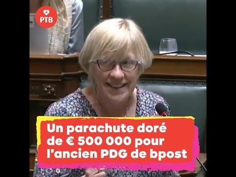 Un parachute doré de 500 000 € pour l'ancien PDG de bpost