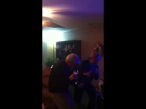 Drunken parents sing Karaoke