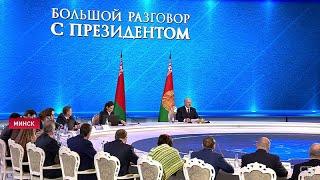 Лукашенко-Романчуку: Ты скажешь, что это не работа Президента. Большой разговор с Президентом