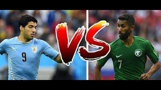 Uruguay Arabie saoudite prédiction  ( russie 2018 match du 20 juin )