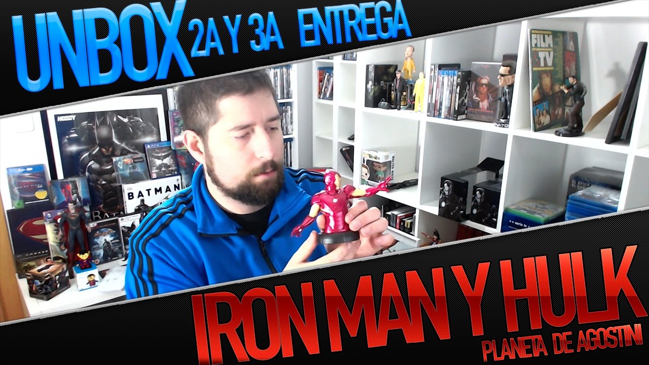 Coleccion bustos marvel unboxing ironman hulk youtube for Coleccion bustos marvel