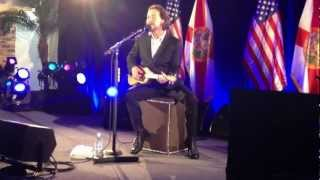 Eddie Vedder - Without you Live at the home of Don Miggs and Lisa DeBartolo