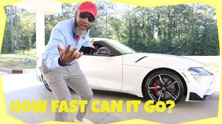 Toyota GR Supra 3.0 2020 Review Test Drive by Evapors
