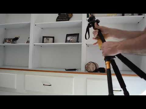 Koolehaoda K 666 Portable Camera Aluminium Tripod Monopod Review