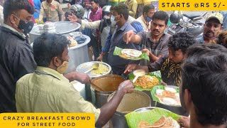 Download Early Morning Cheap Street Food Breakfast   Roadside Food India   Indian Street Food in Bangalore