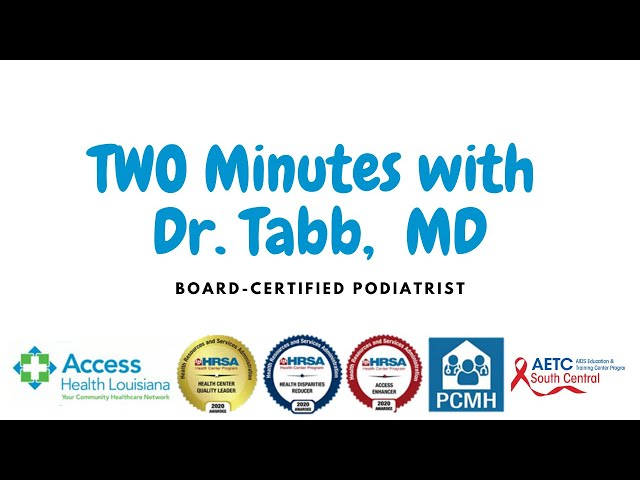 Two Minutes with Dr  Tabb, MD