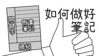 ✒️ 【康乃爾筆記法】如何做上課筆記?高效率筆記法!|學習的知識#11|淘寶開箱【閱部客】