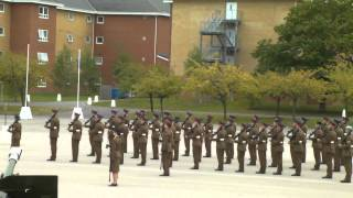 Pirbright passing out parade, 21st September 2012