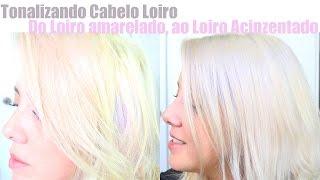 desamarelando cabelo loiro deixando cabelo loiro acinzentado